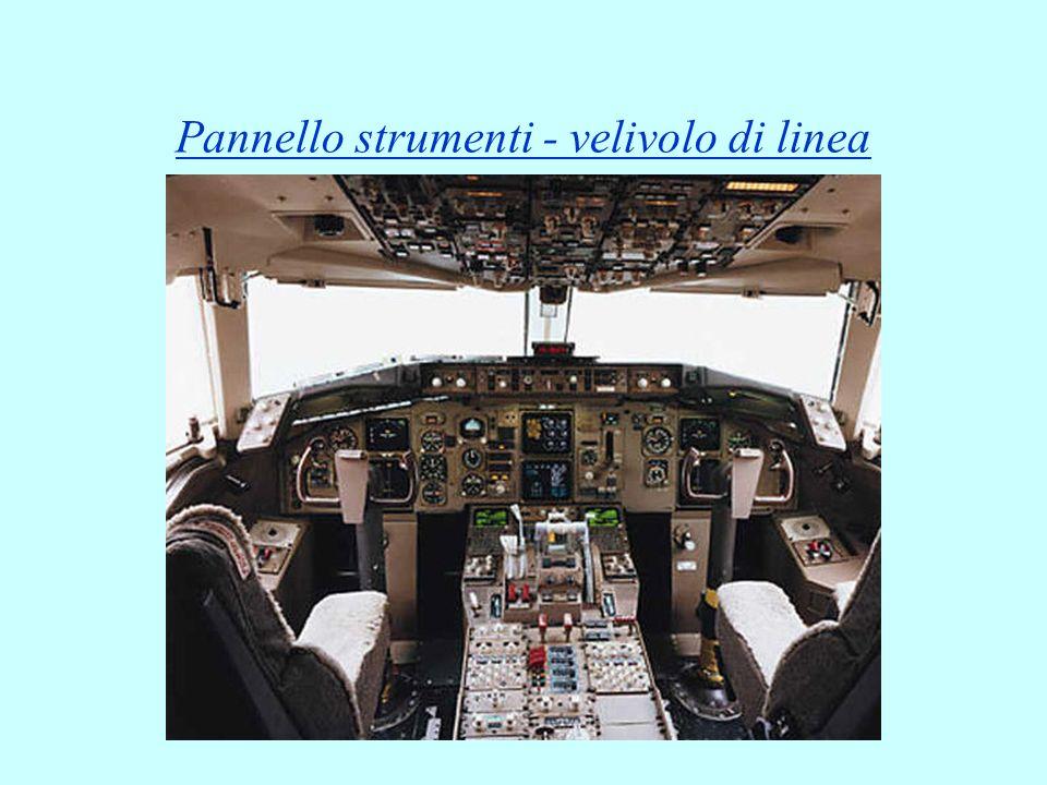 Pannello strumenti - velivolo di linea