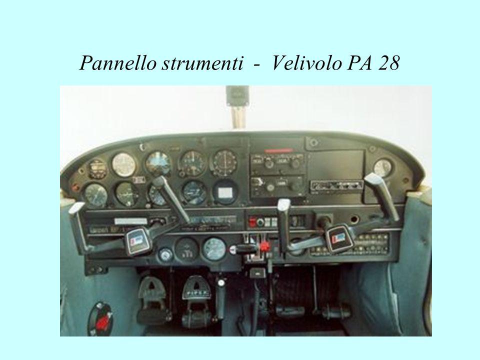Pannello strumenti - Velivolo PA 28