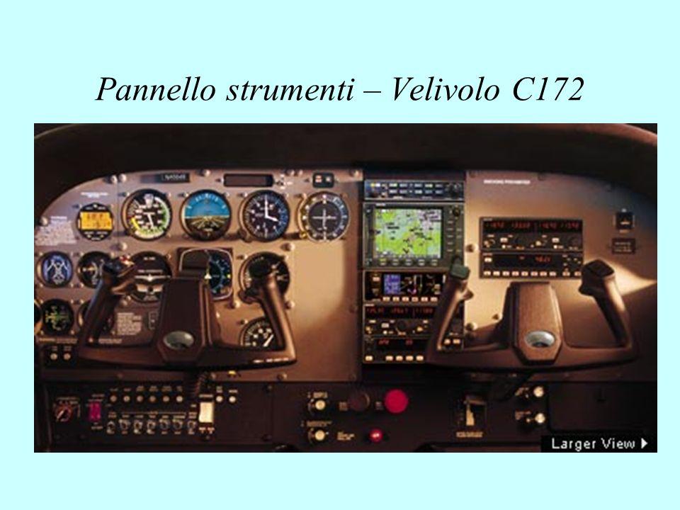 Pannello strumenti – Velivolo C172