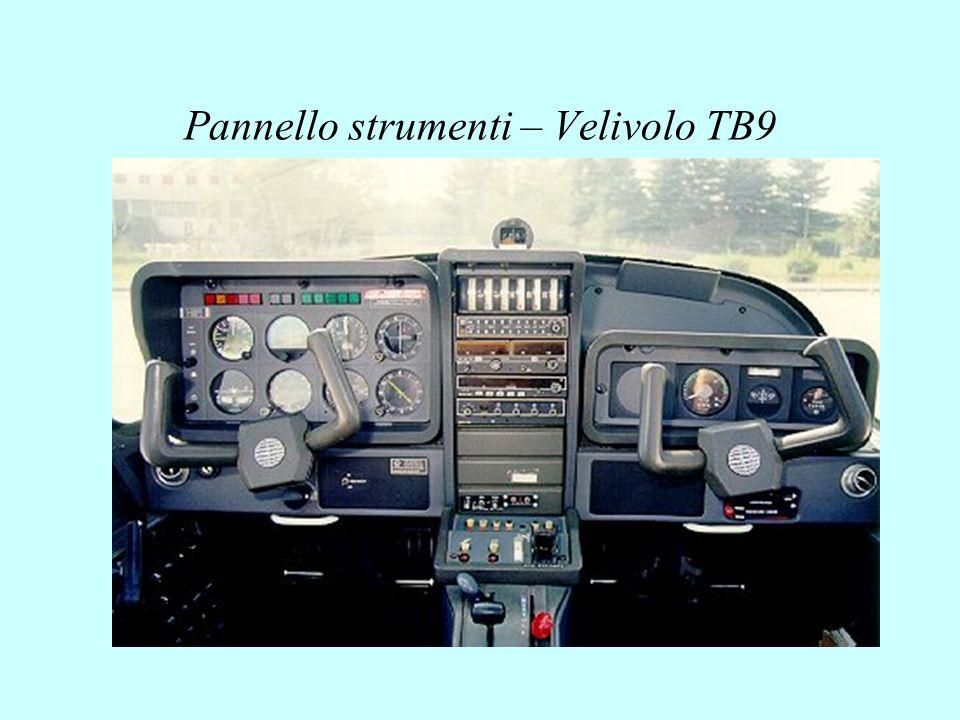 Pannello strumenti – Velivolo TB9