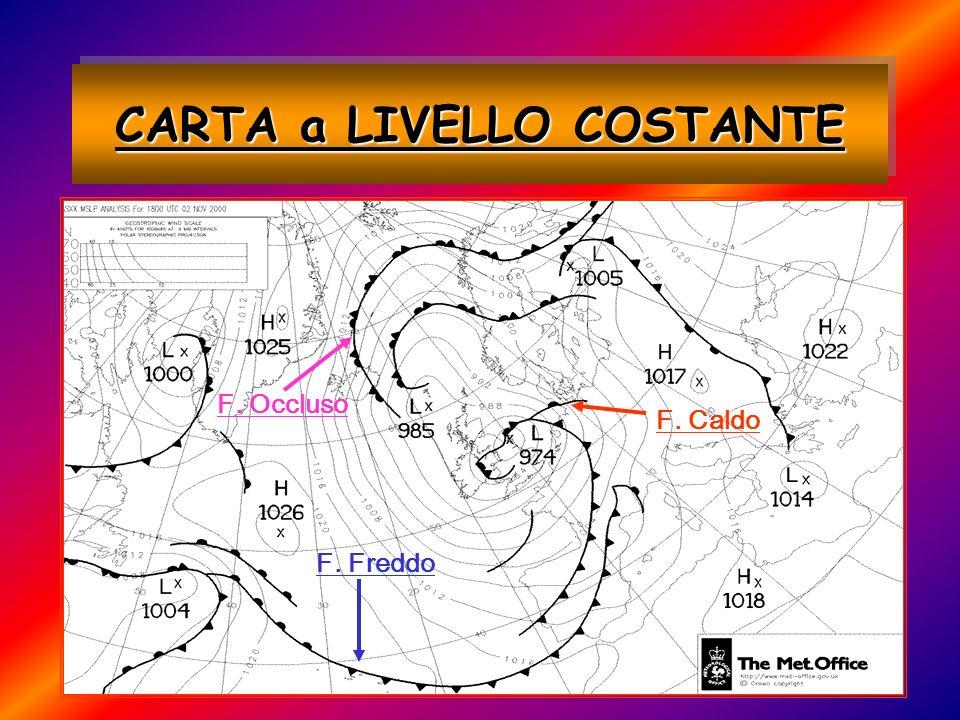 CARTA a LIVELLO COSTANTE F. Freddo F. Caldo F. Occluso