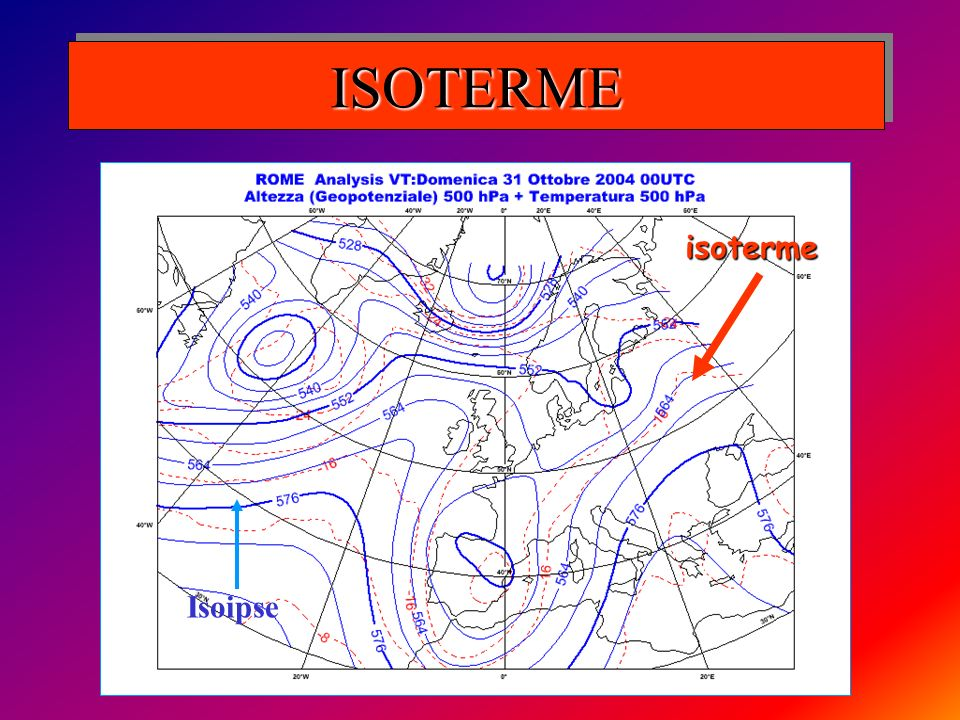 ISOTERMEISOTERME isoterme Isoipse