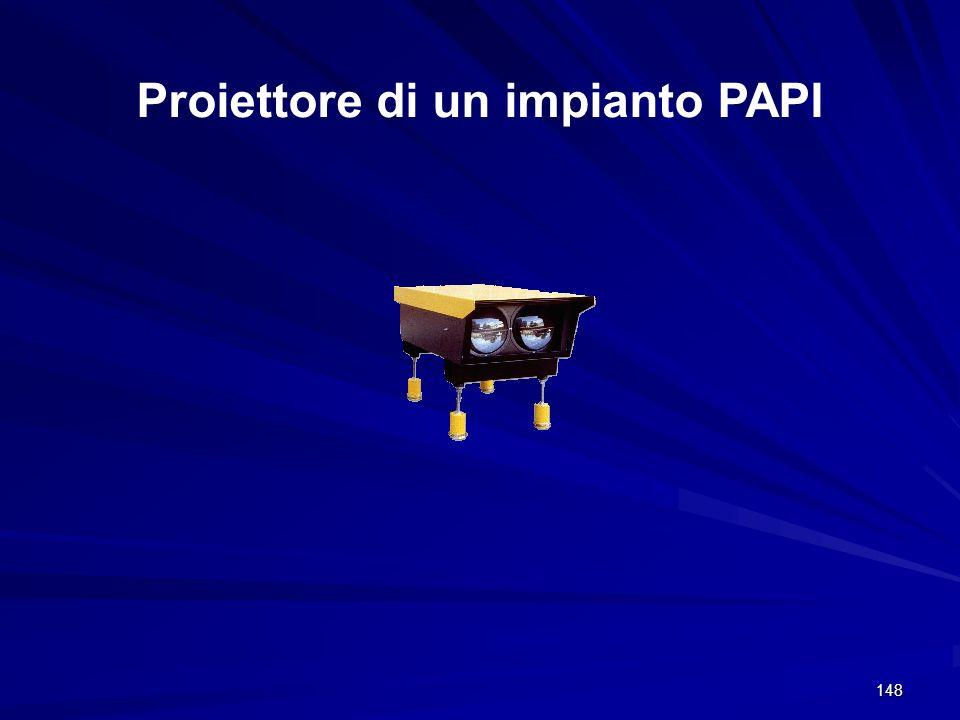 148 Proiettore di un impianto PAPI