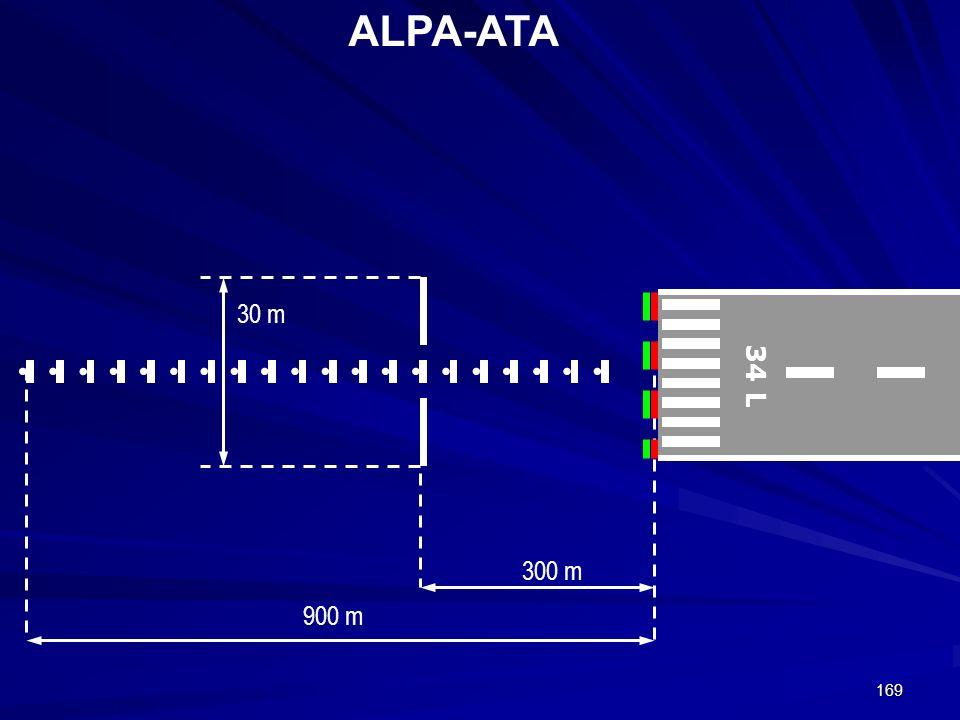 169 ALPA-ATA 34 L 300 m 900 m 30 m