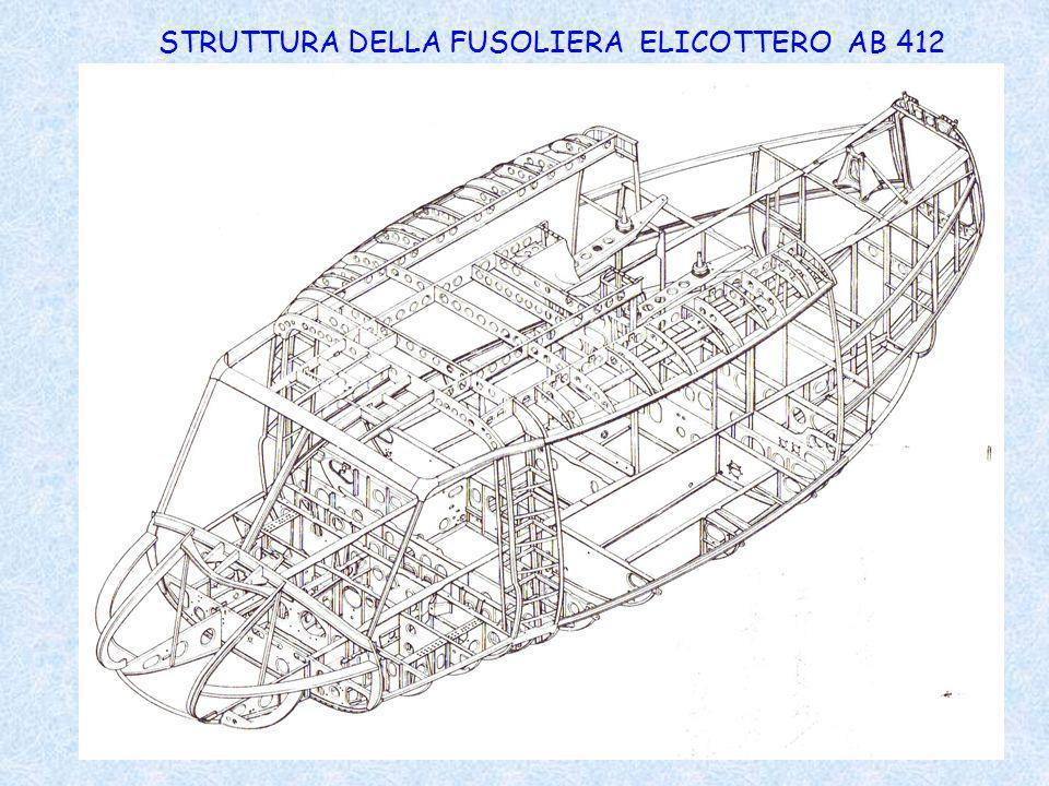 STRUTTURA DELLA FUSOLIERA ELICOTTERO AB 412