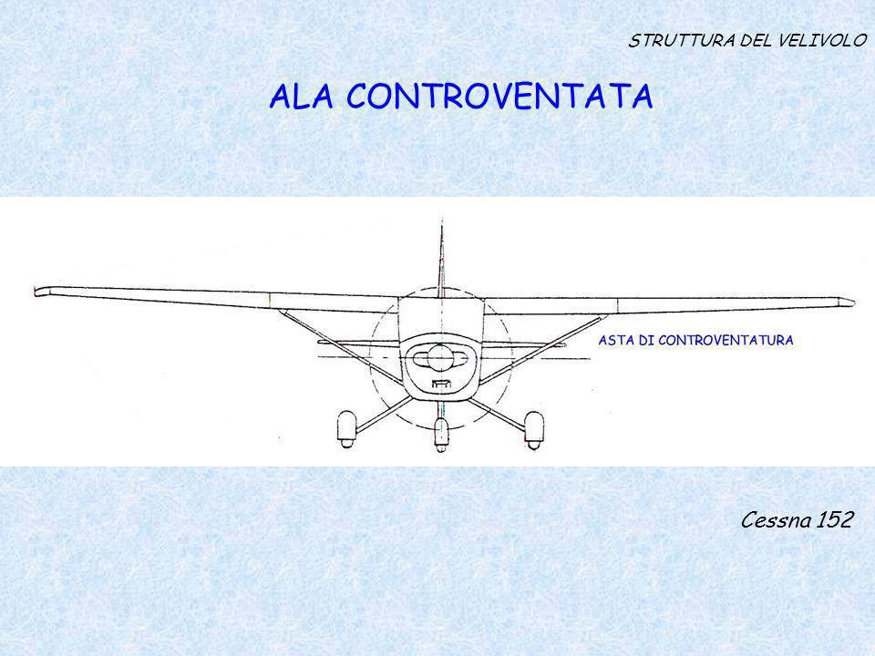 STRUTTURA DEL VELIVOLO ALA CONTROVENTATA Cessna 152