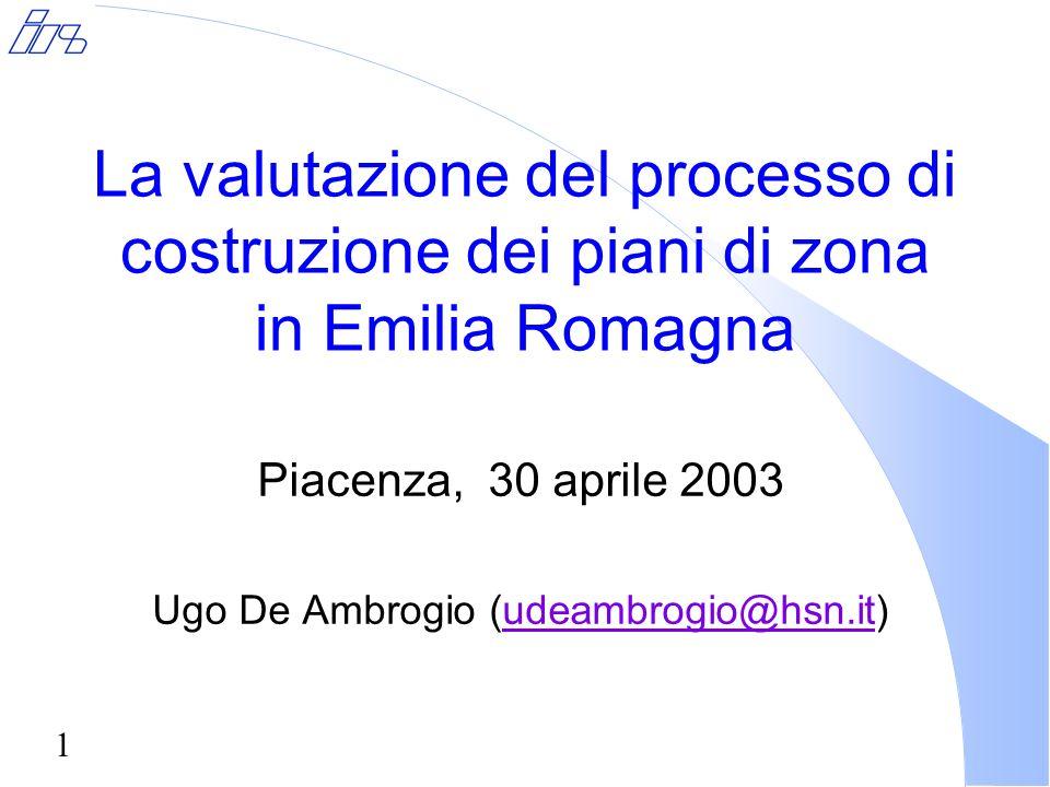 12 Le scelte strategiche di priorità: Integrazione socio-sanitaria l In tutti i piani, ad eccezione di quelli provenienti dalla Provincia di Parma, lAusl garantisce risorse economiche definite e aderisce e concorre a progetti specifici contenuti nel PdZ (con una sola eccezione).