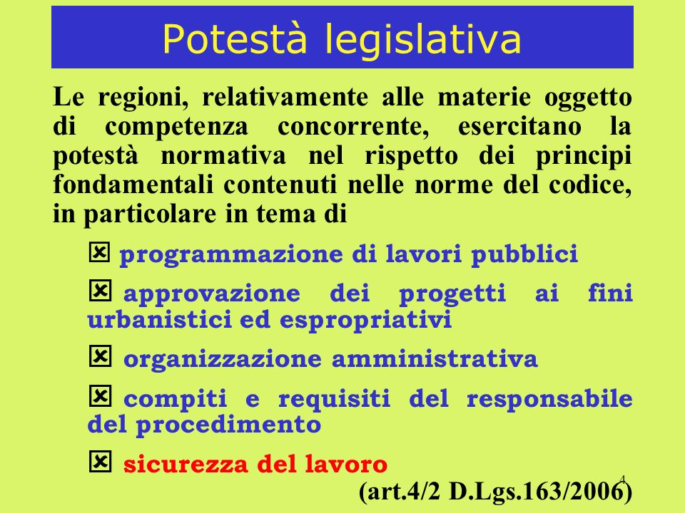 5 Principio di economicità Il principio di economicità può essere subordinato, entro i limiti in cui sia espressamente consentito dalle norme vigenti e dal codice, ai criteri, previsti dal bando, ispirati a esigenze sociali (art.52) alla tutela della salute e dellambiente alla promozione dello sviluppo sostenibile (art.2/2 D.Lgs.163/2006)