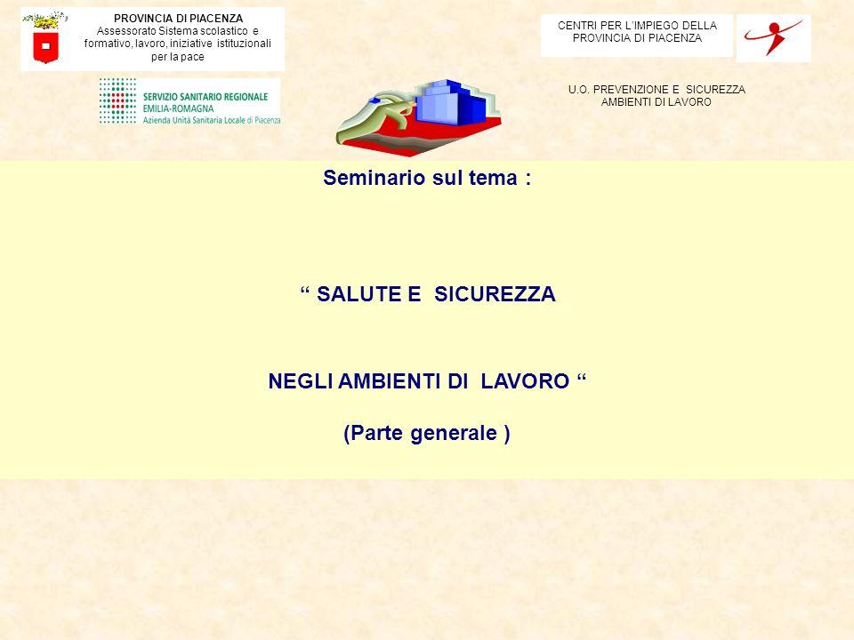 SERVIZIO DI PREVENZIONE E PROTEZIONE (Art.