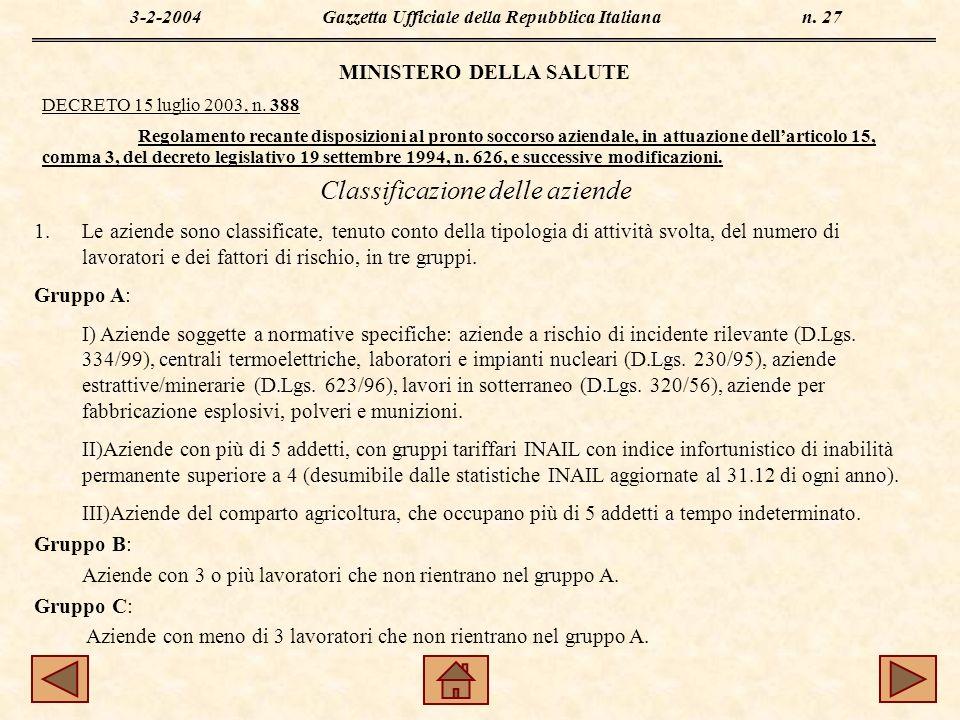 3-2-2004Gazzetta Ufficiale della Repubblica Italiana n.