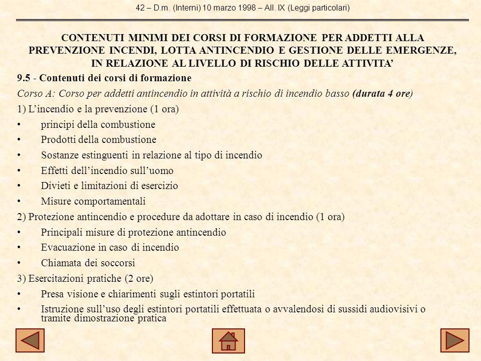 42 – D.m.(Interni) 10 marzo 1998 – All.