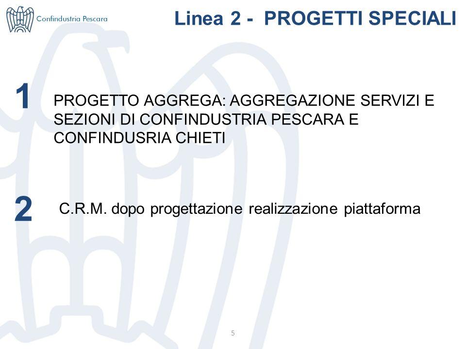 5 Linea 2 - PROGETTI SPECIALI C.R.M.