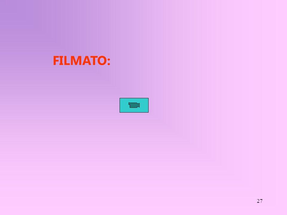27 FILMATO: