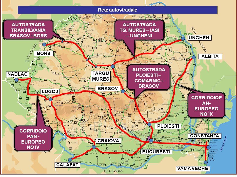 GILAU Suplacu de Barcau Rete autostradale CORRIDOIO PAN - EUROPEO NO IV CORRIDOIOP AN- EUROPEO NO IX AUTOSTRADA PLOIESTI – COMARNIC - BRASOV AUTOSTRAD