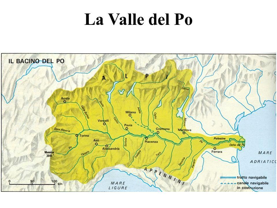 La Valle del Po in cifre