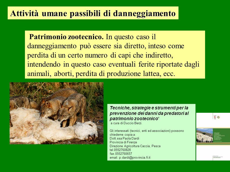 Patrimonio zootecnico.