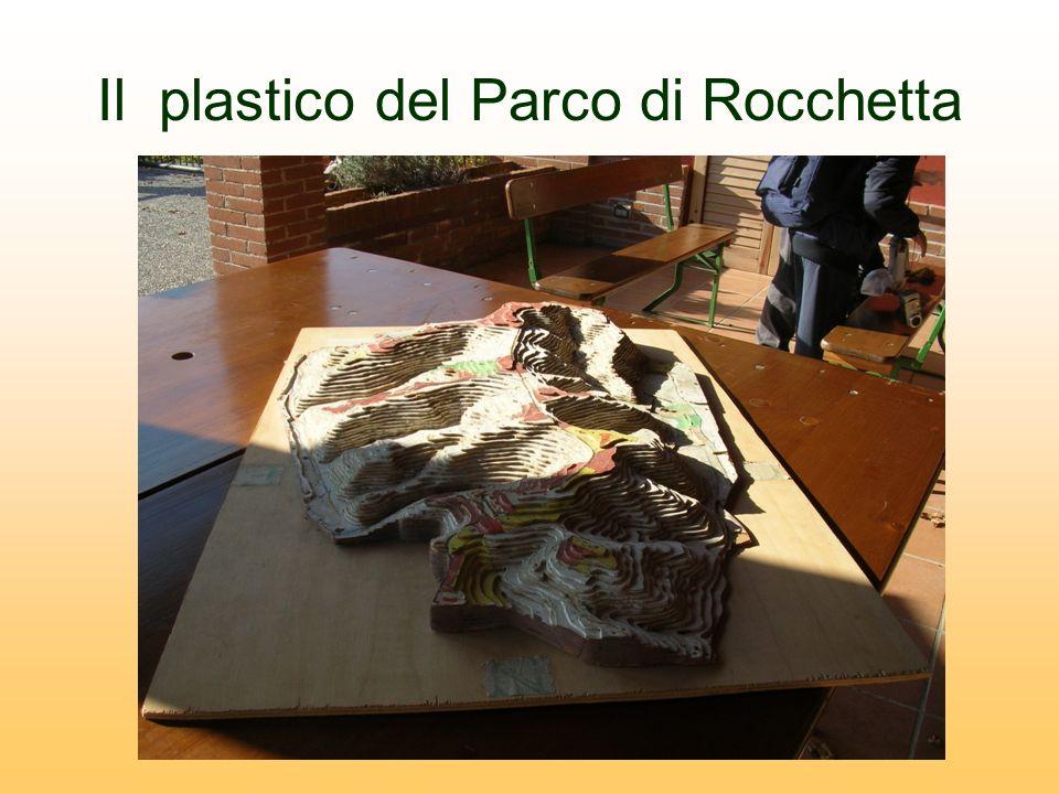 Il plastico del Parco di Rocchetta