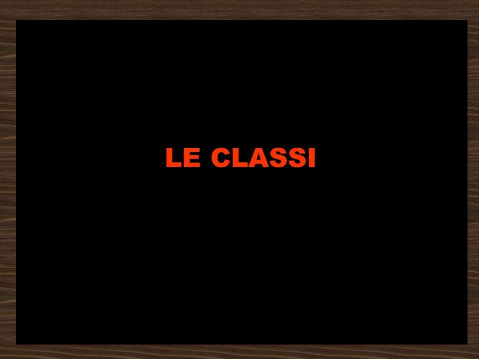 LE CLASSI