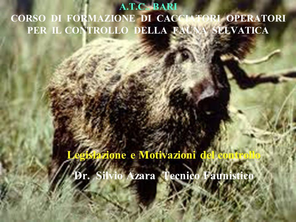 Art.18 Specie cacciabili e periodi di attività venatoria.