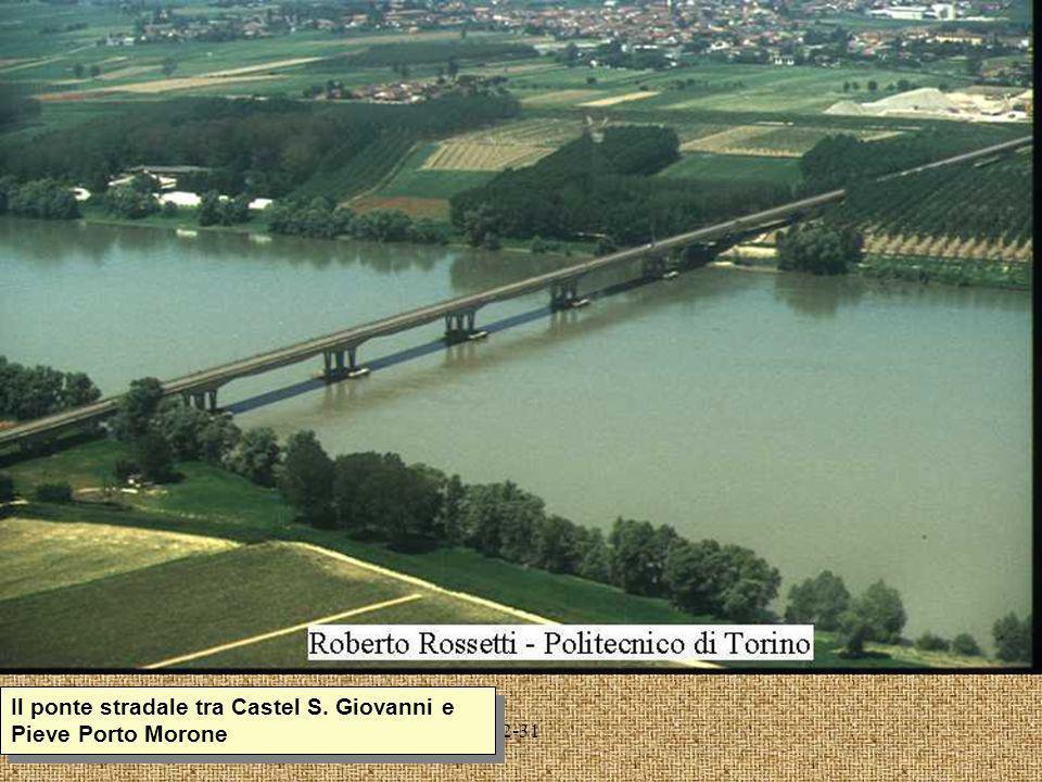 2-31 Il ponte stradale tra Castel S. Giovanni e Pieve Porto Morone