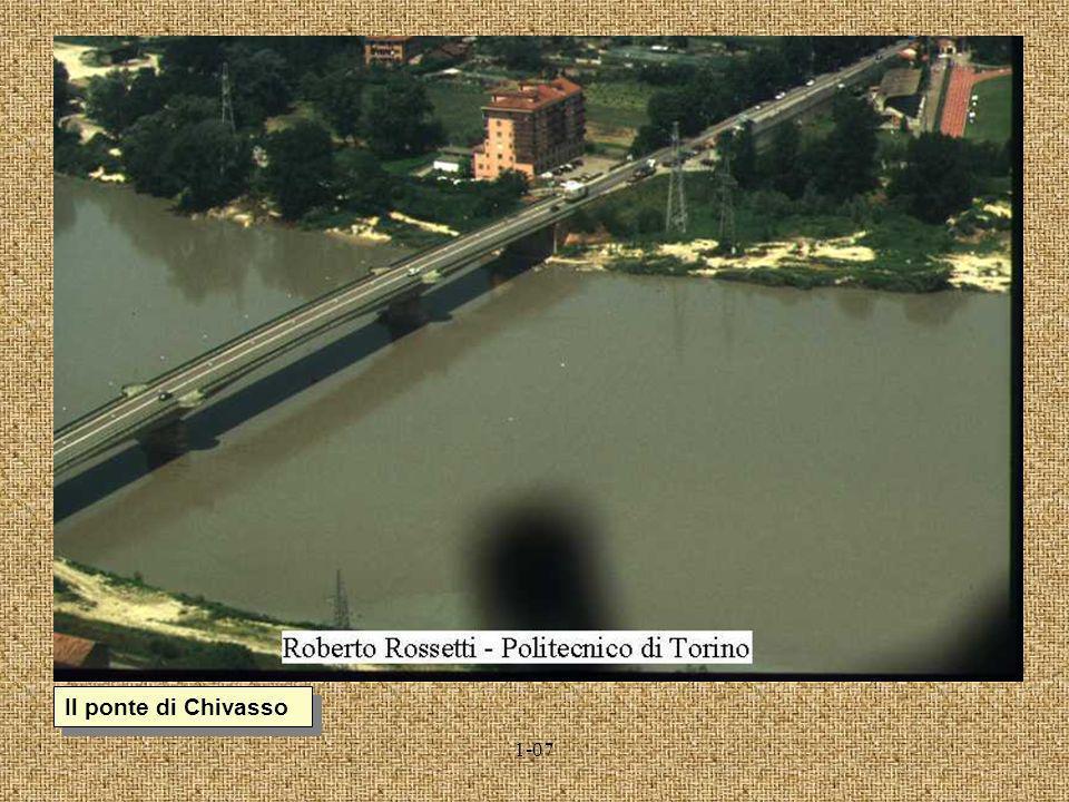 1-07 I ponti sullOrco in prossimità dellimmissione nel Po a Chivasso