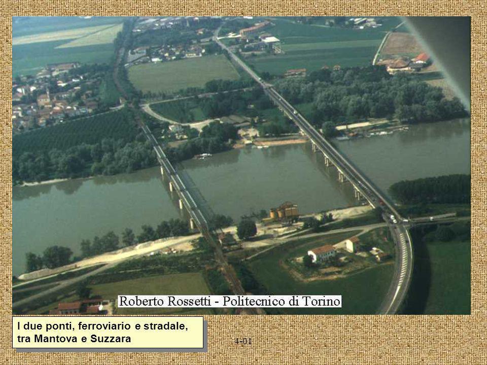 4-01 I due ponti, ferroviario e stradale, tra Mantova e Suzzara