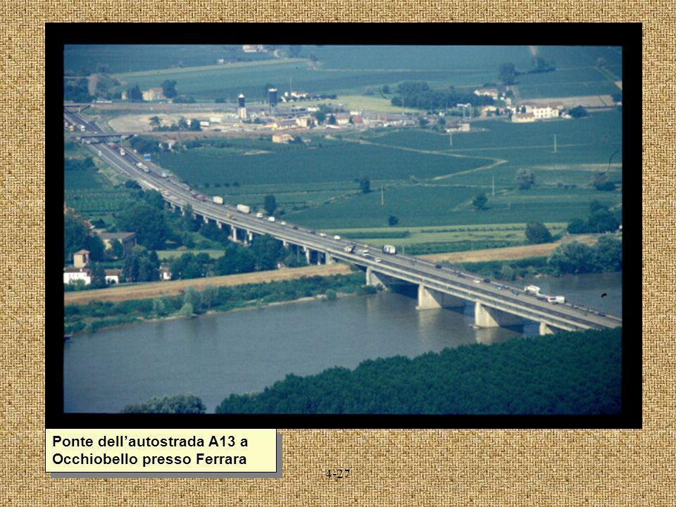 4-27 Ponte dellautostrada A13 a Occhiobello presso Ferrara