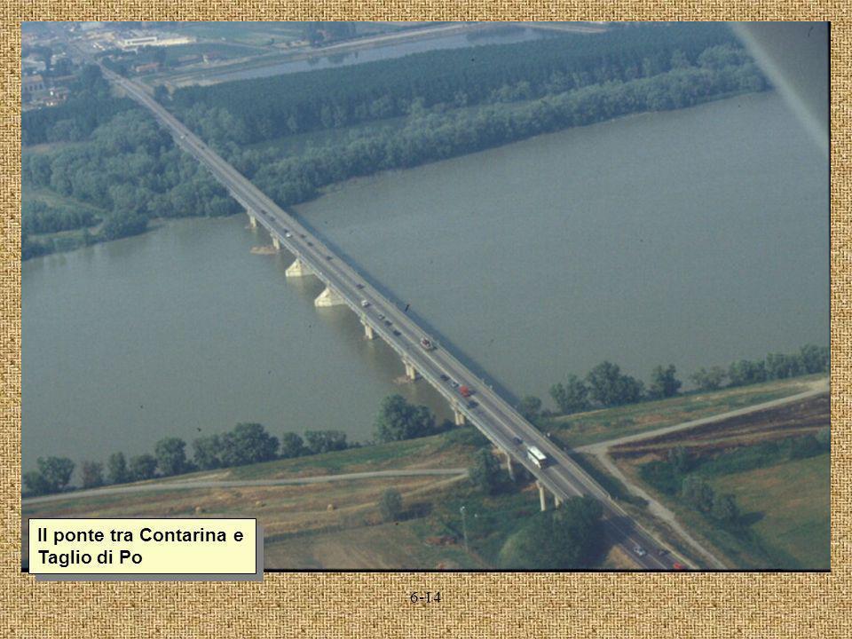 6-14 Il ponte tra Contarina e Taglio di Po