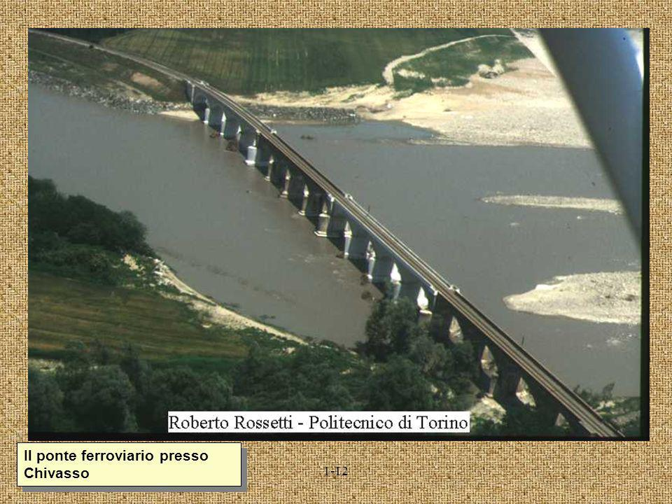 4-29 Il ponte stradale e quello ferroviario di Pontelagoscuro (Ferrara)