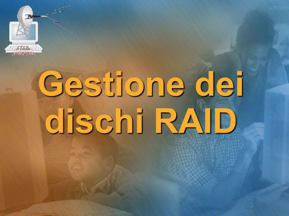 Gestione dei dischi RAID