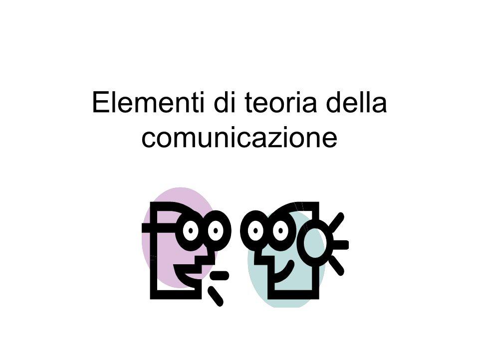 La comunicazione interpersonale La comunicazione interpersonale, al di là del semplice e puro interscambio di informazioni, è caratterizzata dallinstaurarsi di un rapporto, di un legame tra gli interlocutori.
