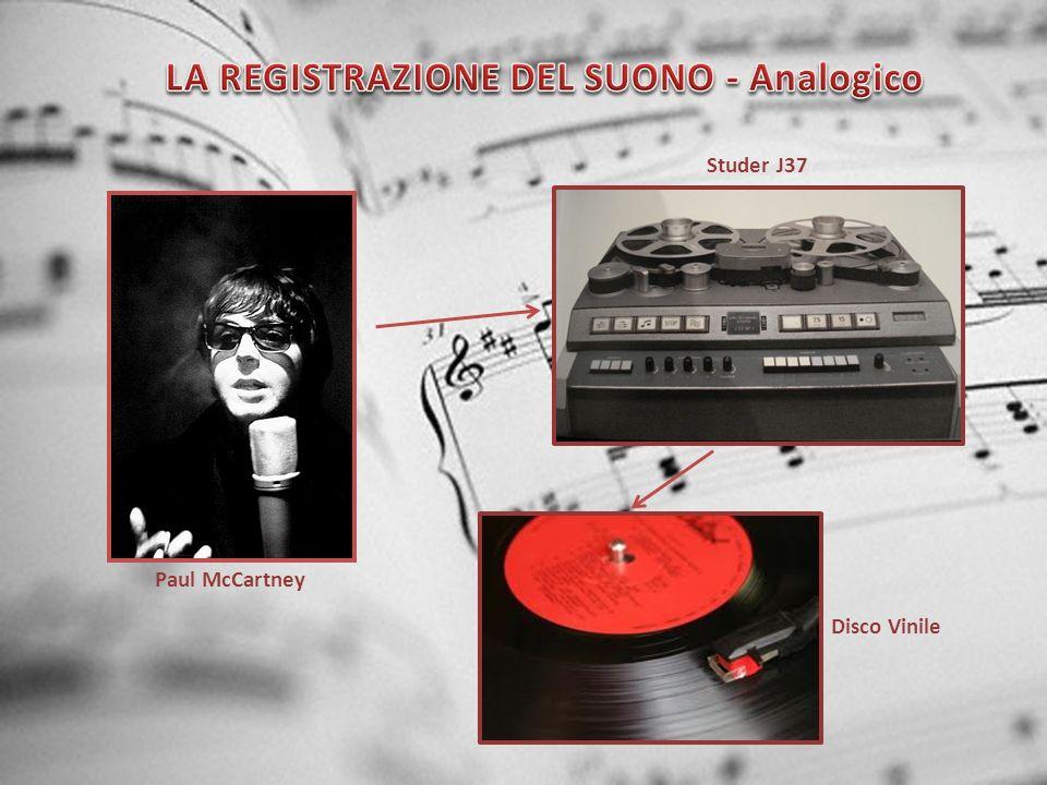 Paul McCartney Studer J37 Disco Vinile