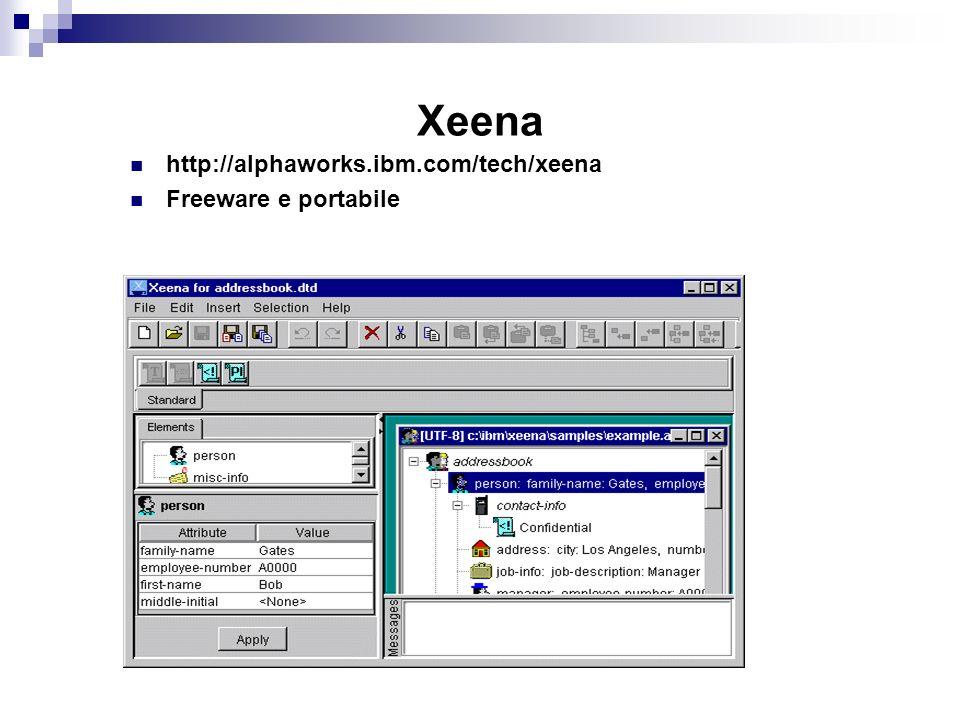 Xeena http://alphaworks.ibm.com/tech/xeena Freeware e portabile