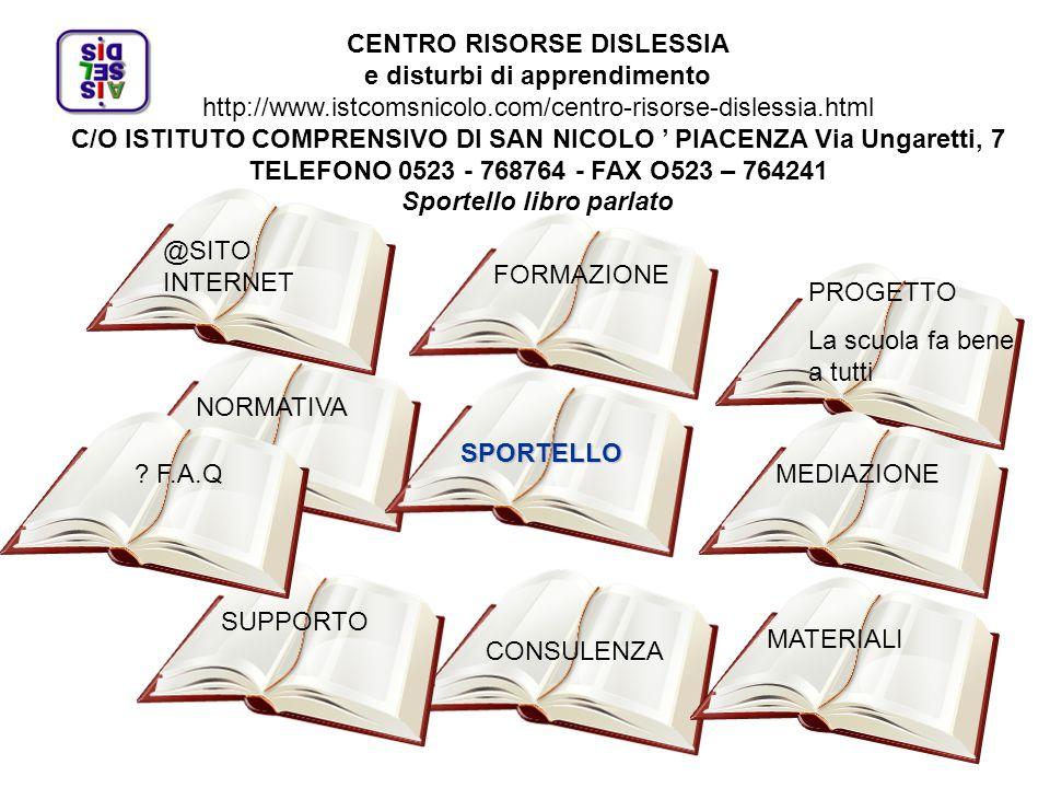 PROVINCIA DI PIACENZA Settore Sistema scolastico ed educativo Istruzione e Università.