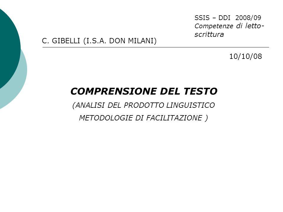 C. GIBELLI (I.S.A.