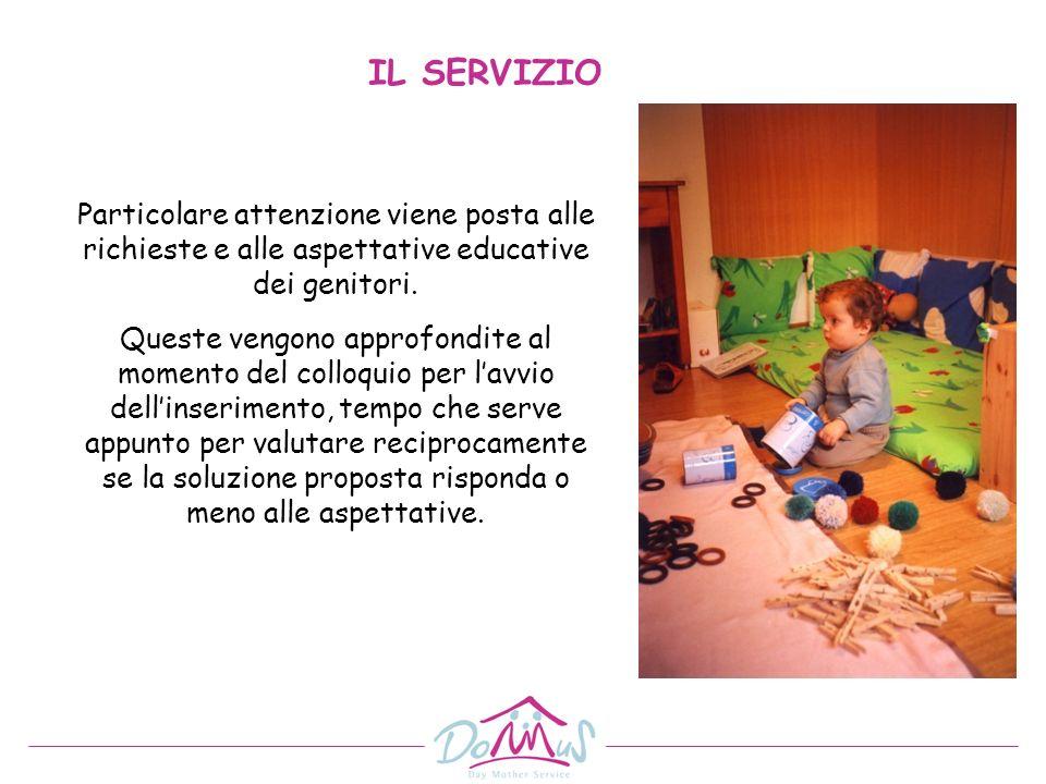 Particolare attenzione viene posta alle richieste e alle aspettative educative dei genitori. Queste vengono approfondite al momento del colloquio per