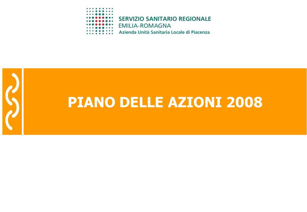 Risultati 2007 pagina 46 PIANO DELLE AZIONI 2008