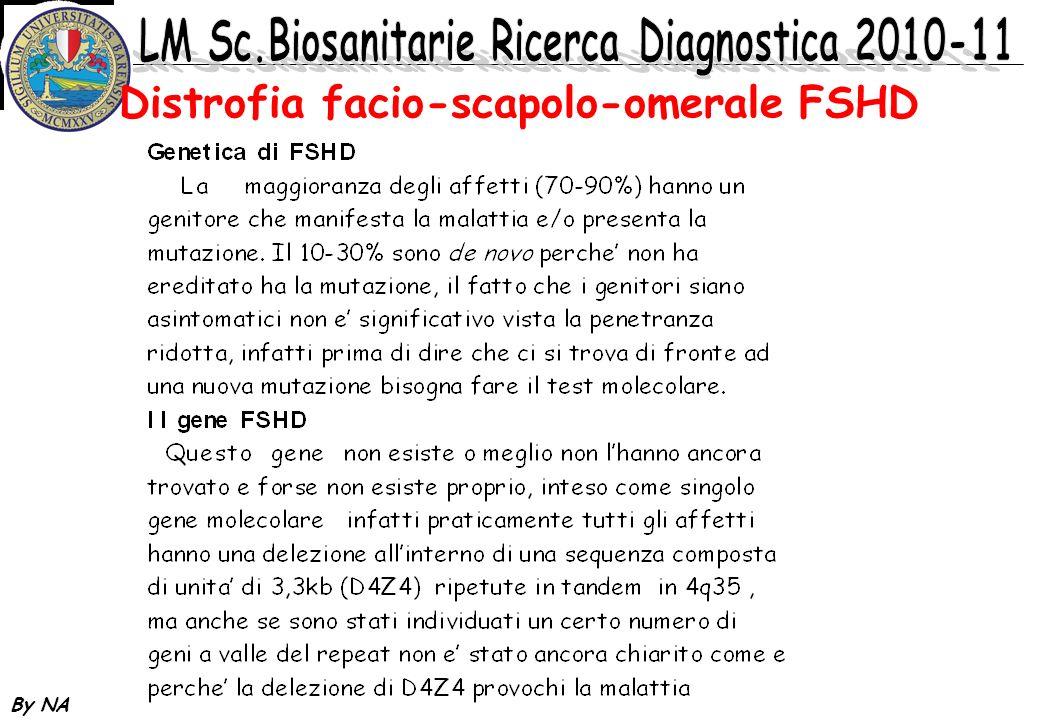 By NA Distrofia facio-scapolo-omerale FSHD