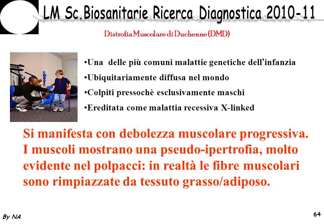 By NA 65 DIAGNOSI DMD Progressiva perdita muscolare e debolezza.