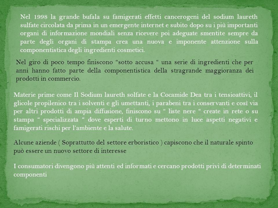 Gli enti di certificazione biologica degli alimenti iniziano a in Europa a creare dei marchi di certificazione volontaria per assicurare il consumatore sullacquisto di reali cosmetici naturali.