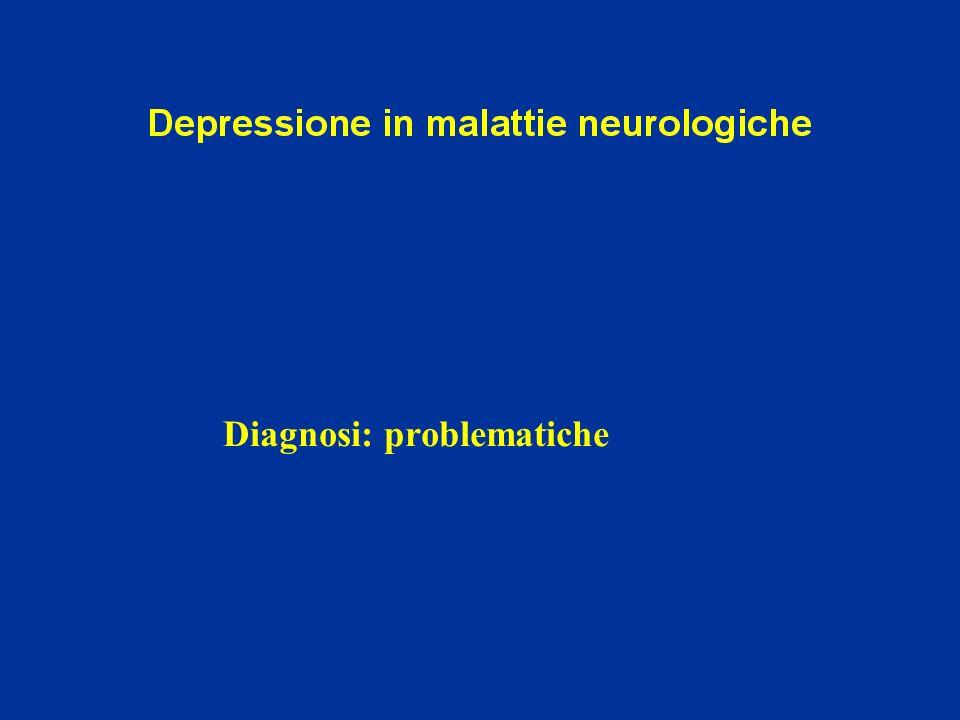 Diagnosi: problematiche