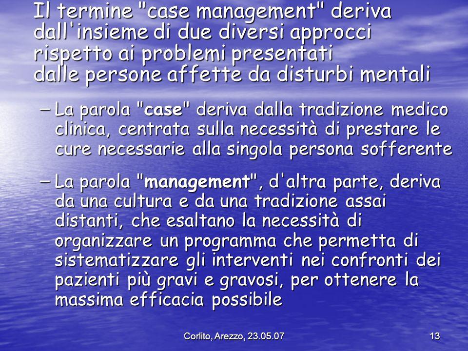 Corlito, Arezzo, 23.05.0713 Il termine