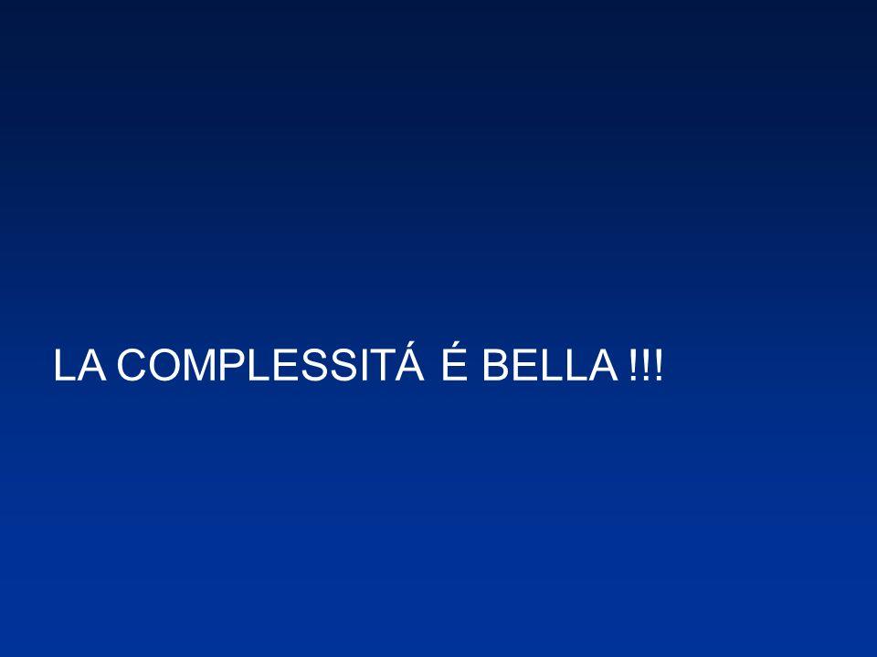 LA COMPLESSITÁ É BELLA !!!