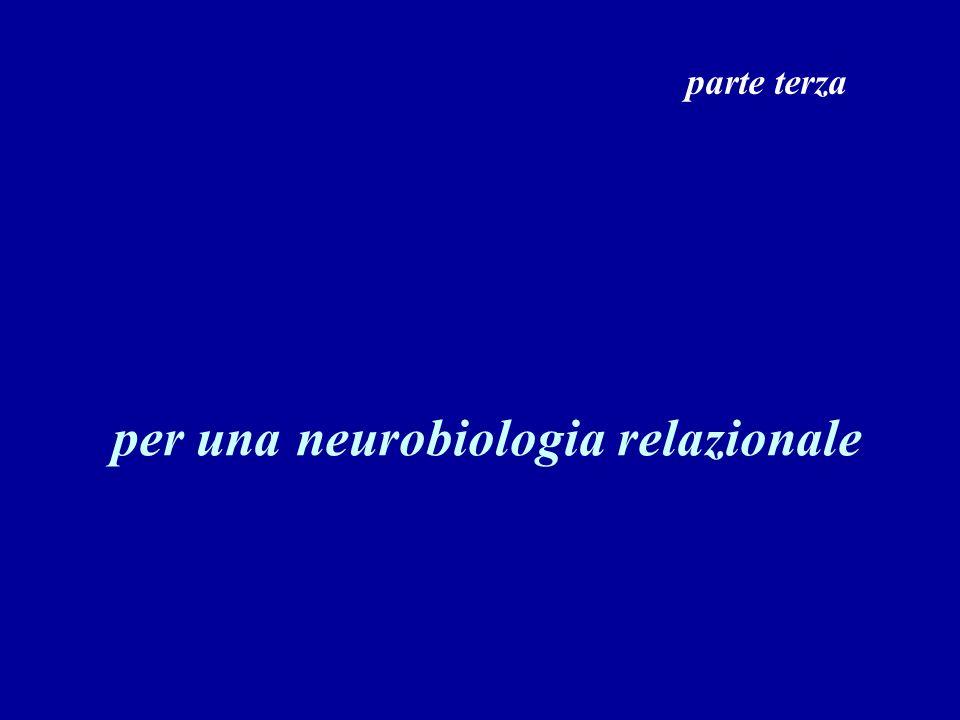 per una neurobiologia relazionale parte terza