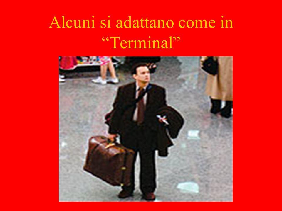 Alcuni si adattano come in Terminal