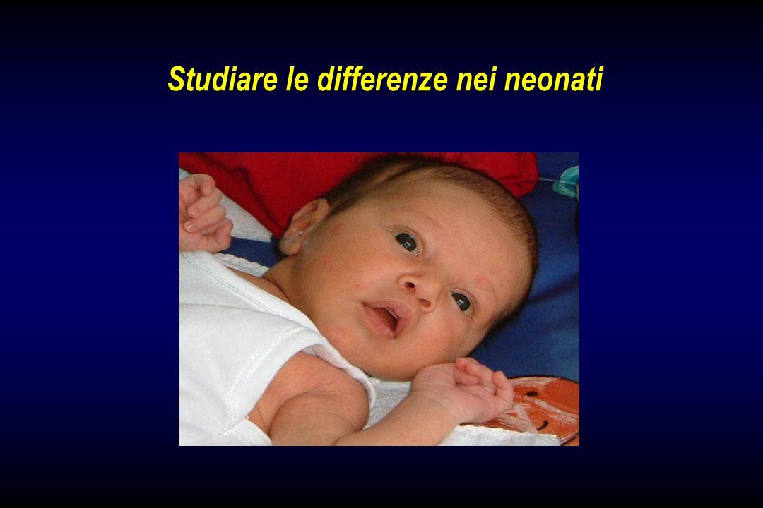 Studiare le differenze nei neonati