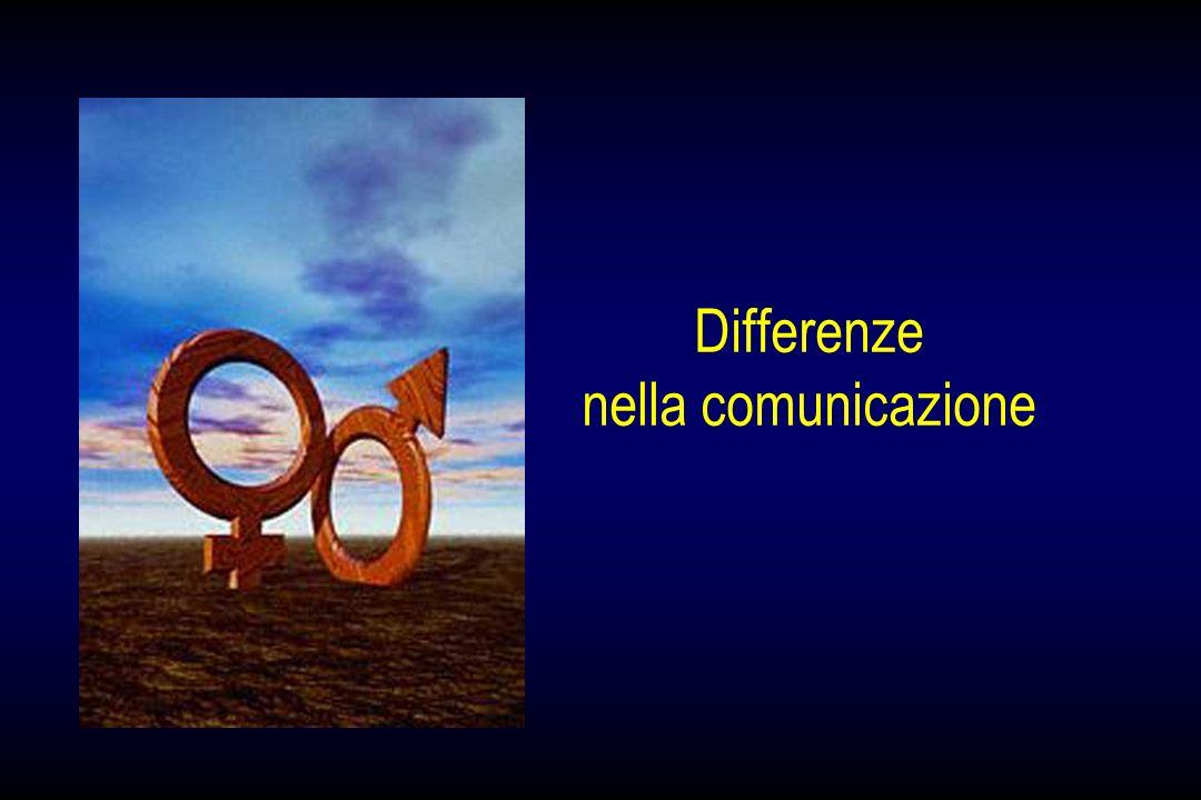 Differenze nella comunicazione