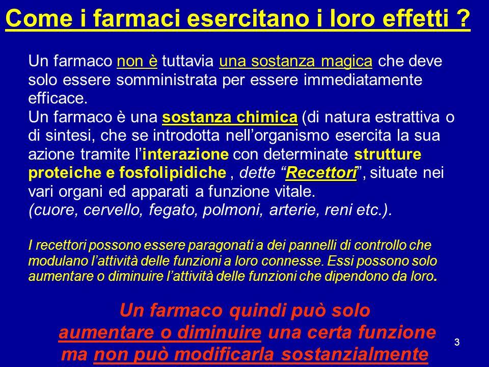 14 Concentrazioni in equilibrio in trattamento ripetuto Livello inefficace Livello ottimale Livello tossico Tempo [ C ]