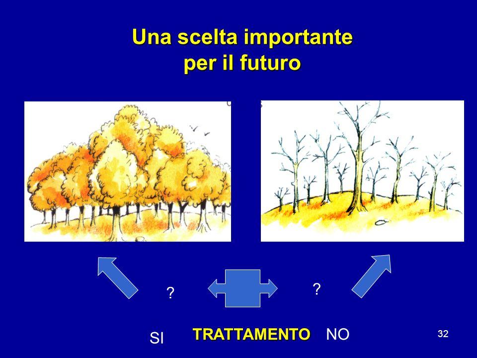 32 Una scelta importante per il futuro ? ? TRATTAMENTO SI NO