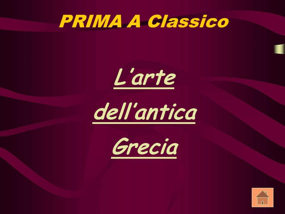 PRIMA A Classico Larte dellantica Grecia